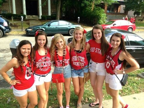 Kappa Alpha theta OSU football game.
