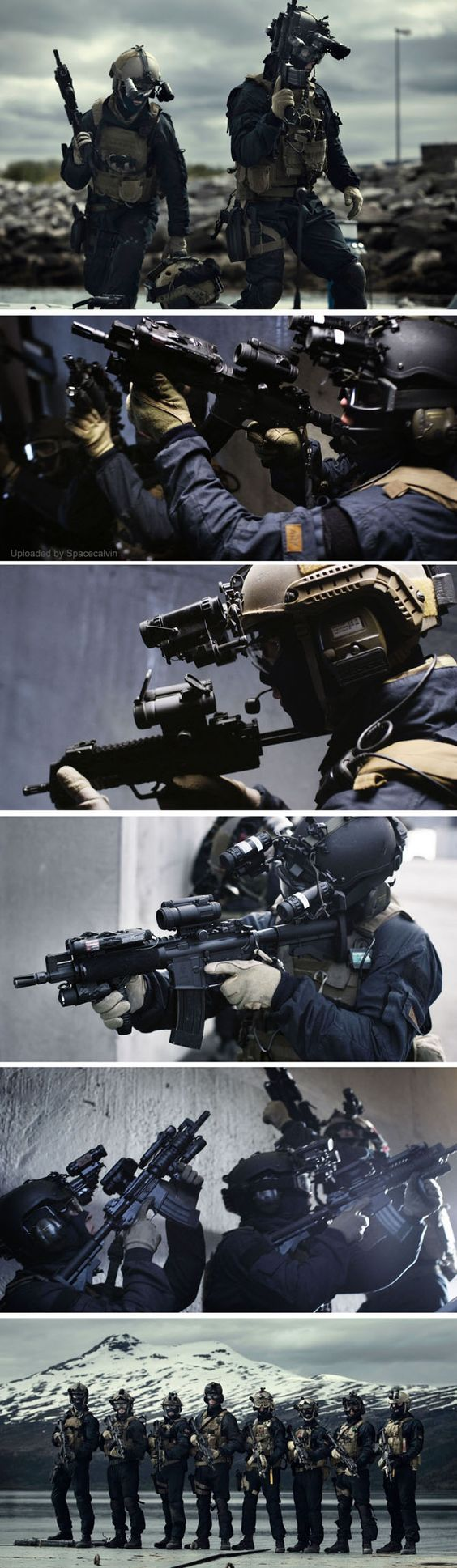 Military special forces gear - Marinejeger Kommandoen Mjk Norwegian Special Forces