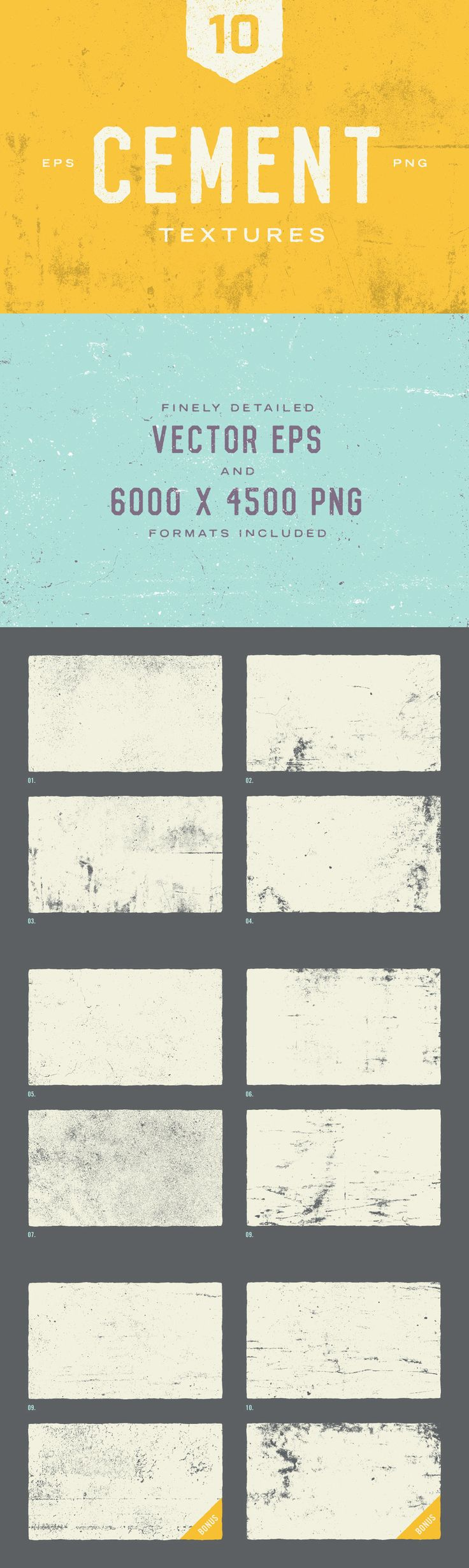Gritty Cement Textures - You want that authentic, gritty textured look, but don't have the hours set aside ...