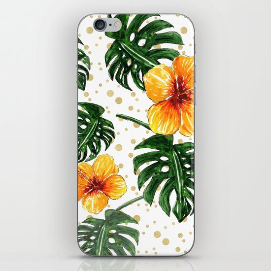Want a tropical themed phone?