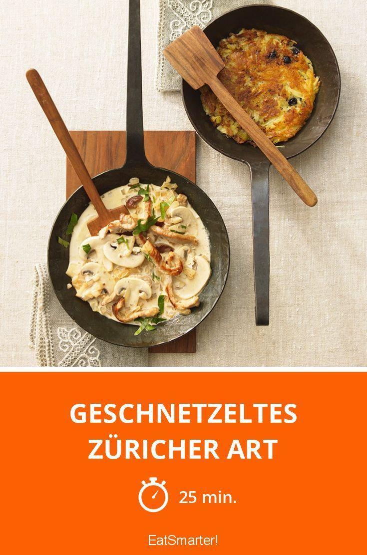 Geschnetzeltes Züricher Art - smarter - Zeit: 25 Min. | eatsmarter.de