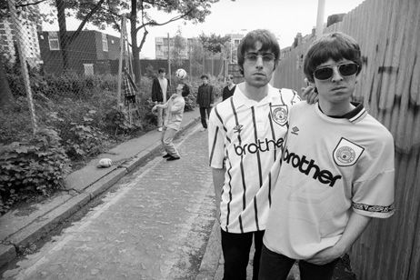 Liam and Noel Gallagher - Manchester, UK