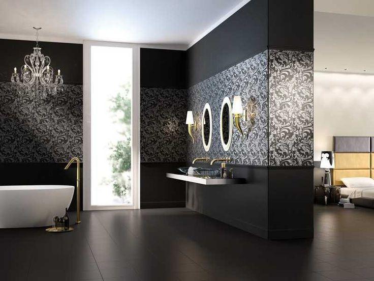 Ванная в стиле арт-деко | Ремонт квартиры своими руками