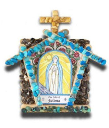 Amazon.com: Marian Grotto Kit - Our Lady of Fatima: Everything Else