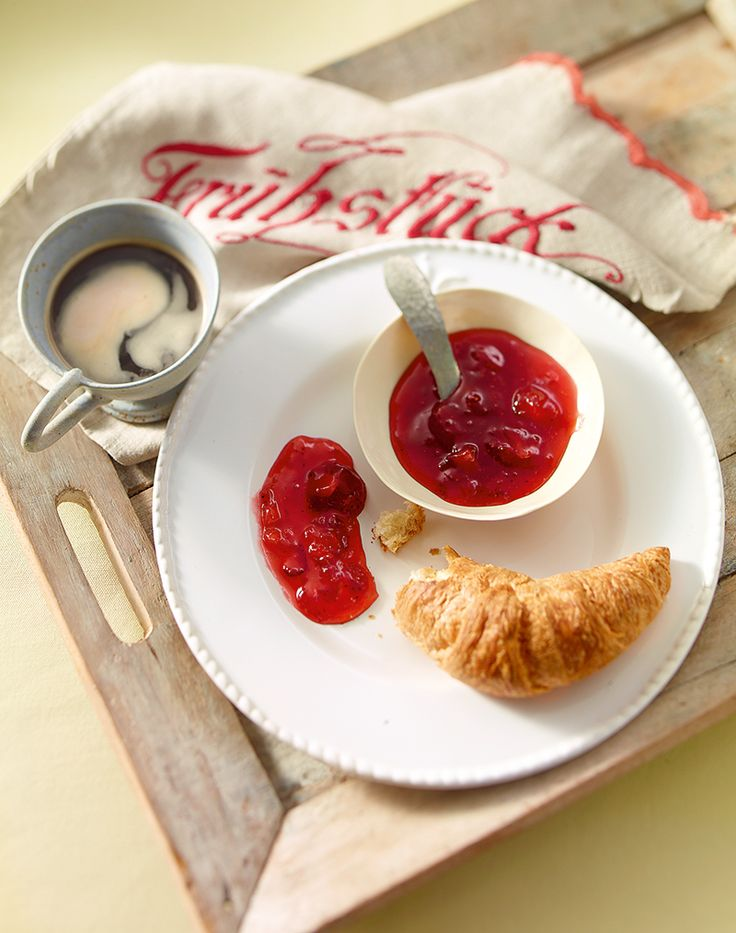 Erdbeer-Spritz-Konfitüre - Erdbeer-Konfitüre mit einer herben Note für ein ganz besonderes Frühstück