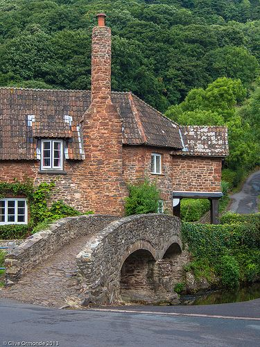 Bridge Cottage, Allerford, Somerset!
