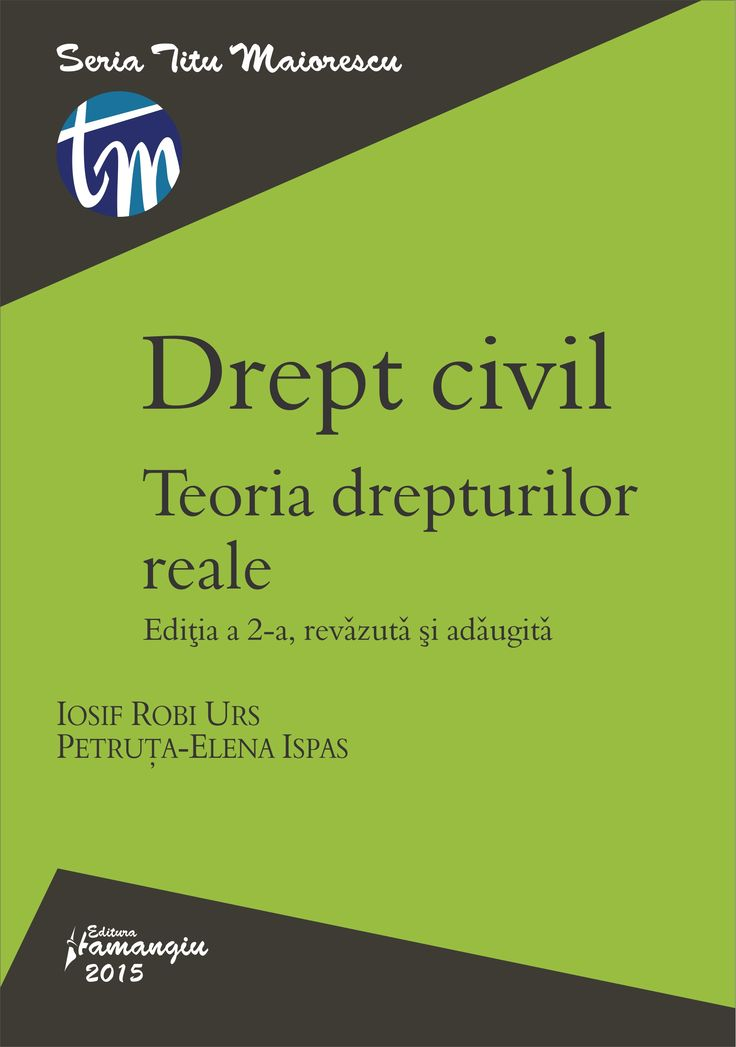 Drept civil. Teoria drepturilor reale - Iosif R. Urs, Petruta-Elena Ispas