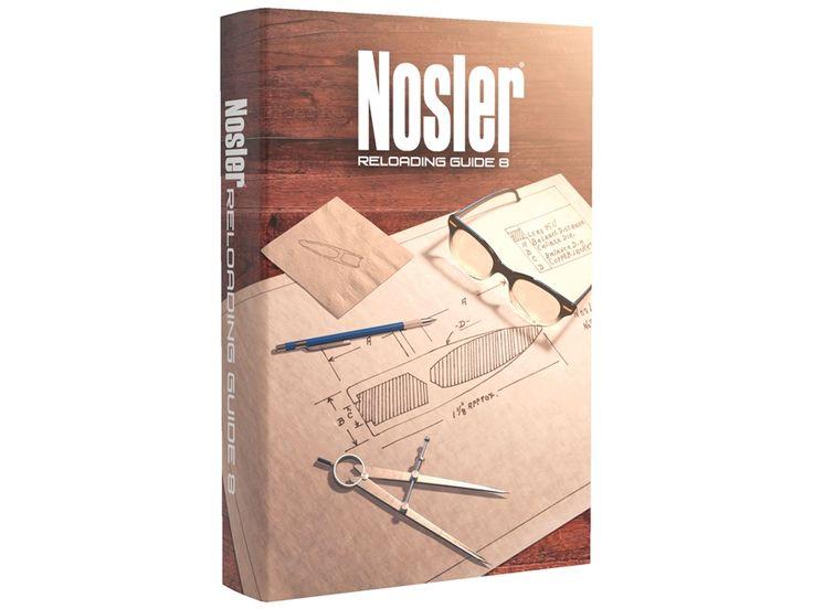 """Nosler """"Reloading Guide 8"""" Reloading Manual"""