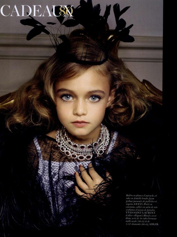 Thylane Lena & Rose Blondeau - Vogue Paris, December '10 - January '11 by Sharif Hamza