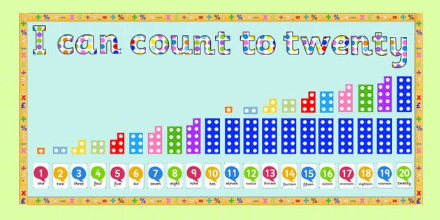 Ready Made 'I Can Count to Twenty' Display Pack