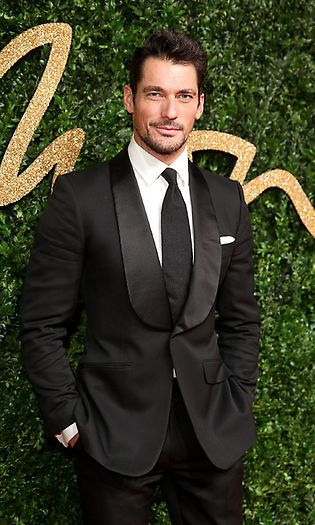 "Name: David Gandy Height: 6'3"" Brands he's modeled for: Hugo Boss, Massimo Dutti and Dolce & Gabbana Fun Fact: Before becoming a model he wanted to become a vet. Photo: Getty Images"
