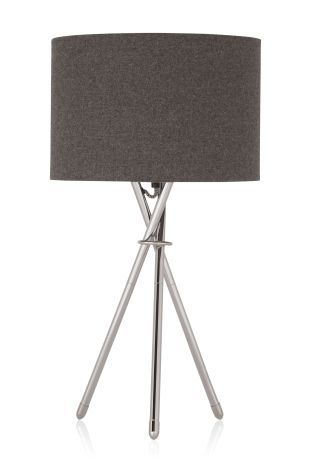 Buy Chrome Tripod Table Lamp from the Next UK online shop