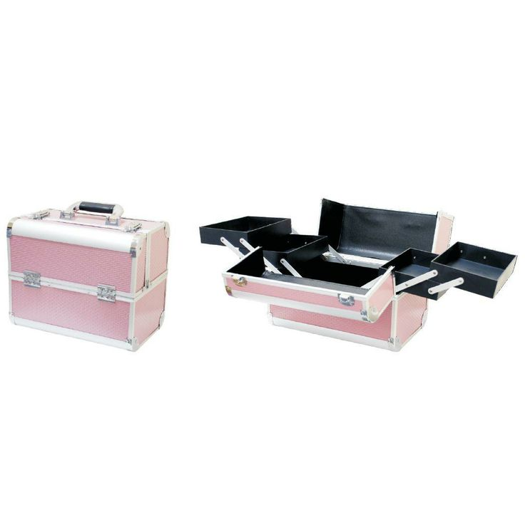 BEAUTY CASE (MEDIUM) 740 - PINK Down Under Nail and Beauty Supply http://www.planetnails.com.au