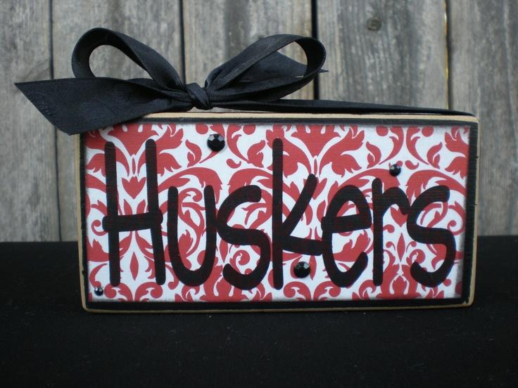 251 best GO BIG RED! images on Pinterest | Nebraska cornhuskers ...