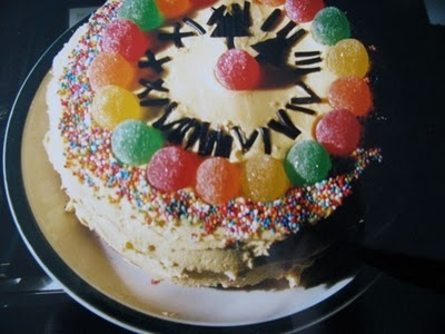 The famous clock cake! #clock #cake #birthday #cooking