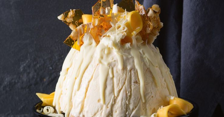 Impress with this decadent dessert designed for a summer Christmas.