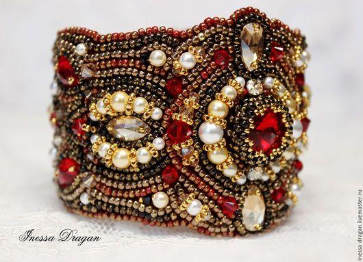 """Браслеты ручной работы. Ярмарка Мастеров - ручная работа. Купить Браслет """"Индийская невеста"""" / """"Indian Bride"""" Bracelet. Handmade."""