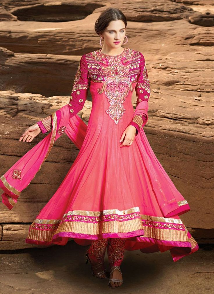 Majestic Lace And Multi Work Designer Salwar Kameez