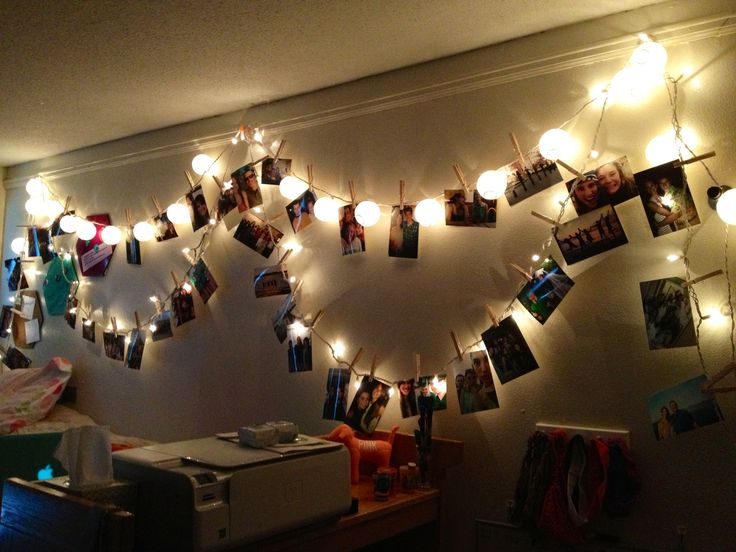 Best String Lights For Dorm Rooms : 20 best images about College on Pinterest Light string, Order pizza and Best dorm rooms