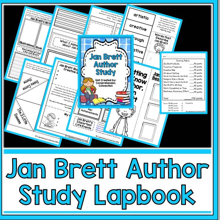 Laura Numeroff Author Study and Activities for Preschool ...