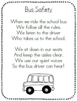 School Bus Safety Pack