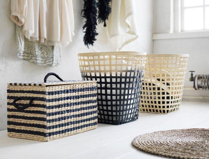 « Ce coffre est tout simplement parfait pour vos pique-niques. Faites le plein de bonnes choses et prenez la route! Il est fait d'une matière naturellement robuste. » Nike Karlsson, designer IKEA
