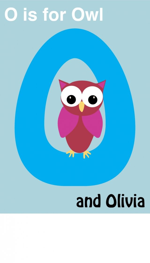 o is for Olivia