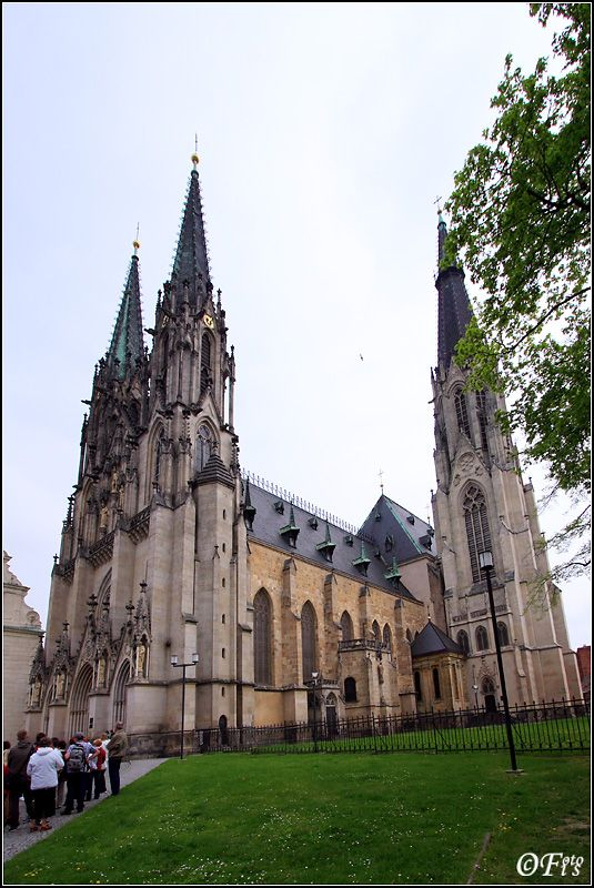 St.Wenceslas Cathedral, Olomouc (North Moravia), Czechia