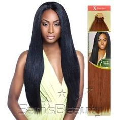 Outre Synthetic Hair Crochet Braids X-Pression Braid Loop Dominican Blow Out Straight