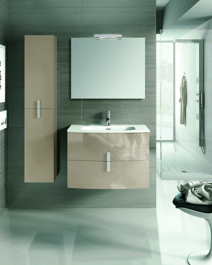 Eviva Cali 31″ Wall Mount Brown Modern Bathroom Vanity with White Integrated Porcelain Sink