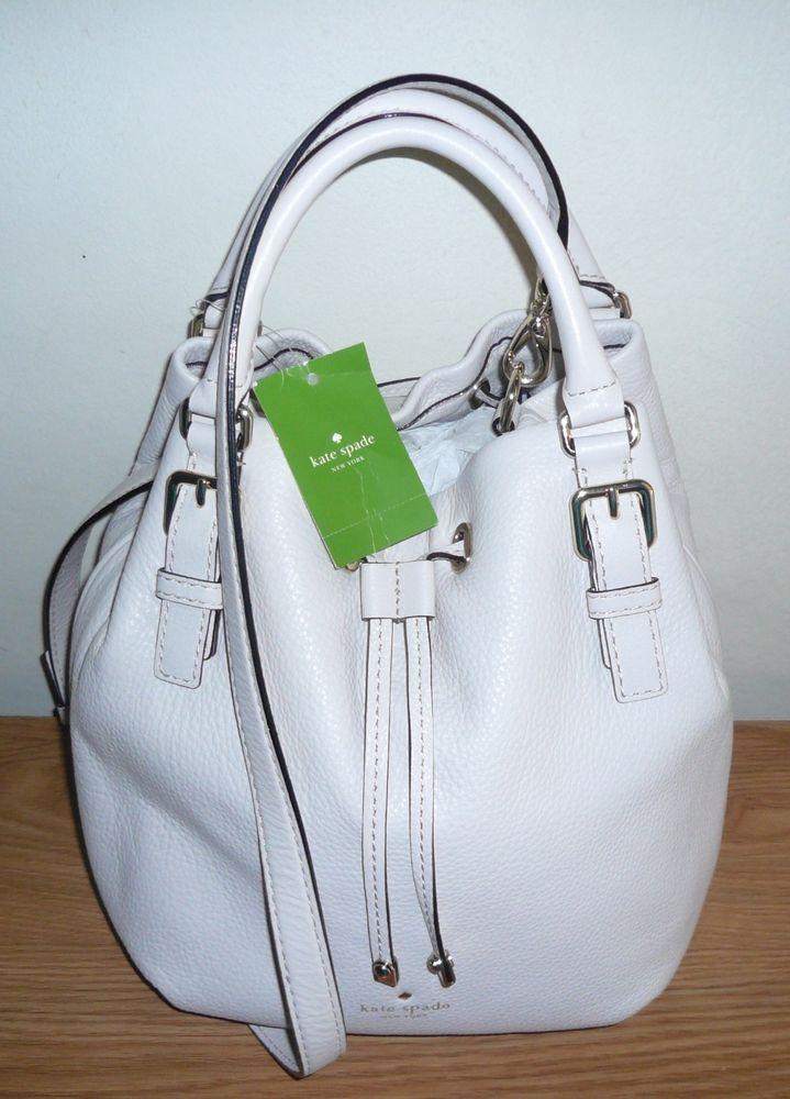 NWT Kate Spade Sandy Cobble Hill Pebble Leather Bucket Bag Shoulder Handbag $398 #KateSpade #BucketBag