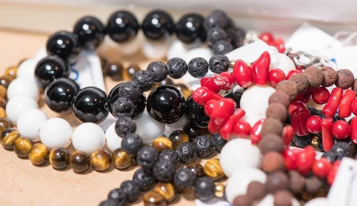 Semi precious stones bracelets by Blue Handmade Natural Jewels. https://www.facebook.com/BluelJewels/