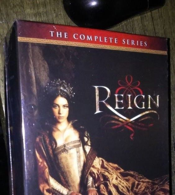 Reign: The Complete Series Seasons 1-4 (DVD 17-Disc Set) New Ships Free