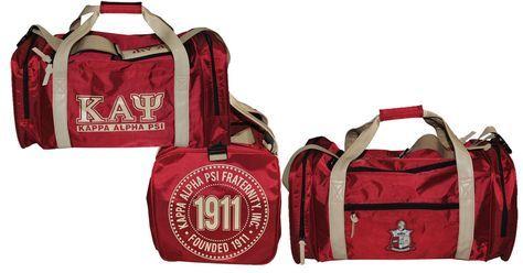 Kappa Alpha Psi Duffle Bag