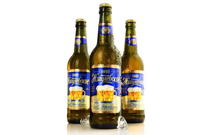 Пиво «Жигулевское» - Алкогольные напитки - Портфолио - Дизайн-студия Акима Мельника - дизайн упаковки и этикетки