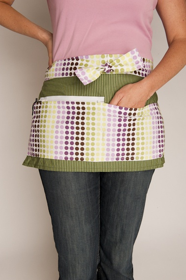 Vendor Apron - for Craft Shows or Garage Sales... * would also be great for gardening to hold gloves etc.