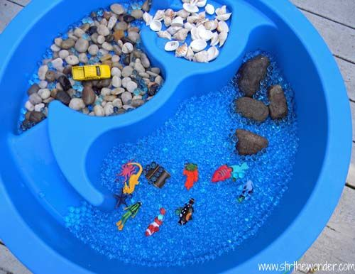 Ocean Sensory Table Awesome Tables And Sensory Play
