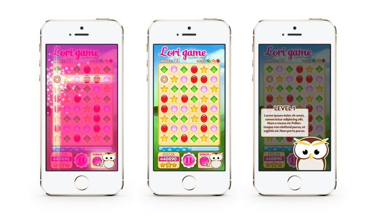 iphone game design 2D arcady