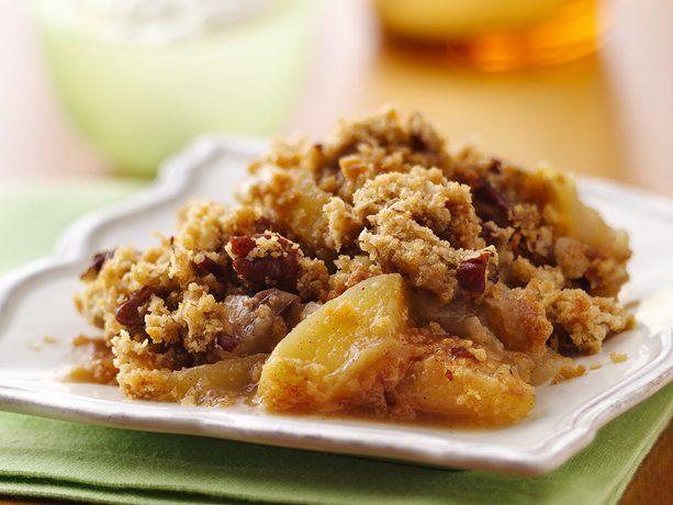 Apple-Pecan Crisp: Desserts Recipe, Apple'S Pecans Crisps, Applepecan Crisps, Baking Recipe, Apples Recipe, Apples Pecans Crisps, Fruit Desserts, Apples Crisps, Fall Desserts