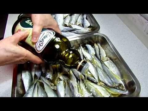 Reteta Peste marinat in ulei - YouTube