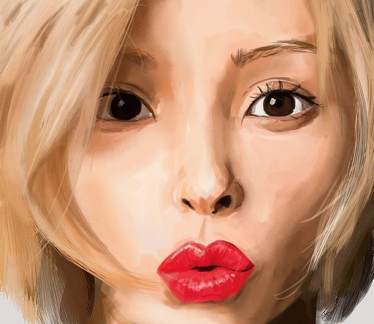 Beni speed painting from Beni Best cover. Study 2hrs