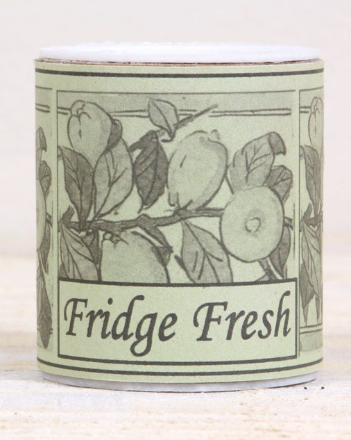 Fresh Tubs - Pierce the lid and put in your cupboards and wardrobes (Cupboard Fresh), fridge (Fridge Fresh) or room (Room Fresh) to absorb any odours and leave in its place a fresh lemon scent