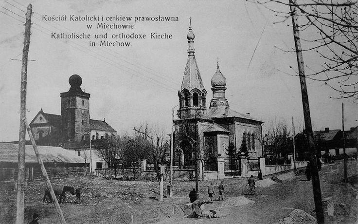 Cerkiew na małym rynku -Miechów