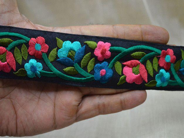 Seda Sari Border ajuste, la cinta del arte, vestuario ajuste por el astillero, ajuste decorativo, moda Avios, adornos de tela y los adornos, detalles de cintas  Turquesa, rosa, verde bosque,...