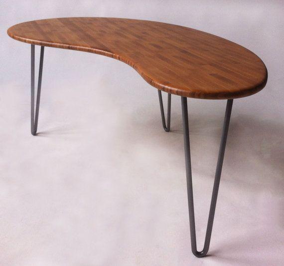 Mid Century Modern Coffee Table Kidney Bean Shaped Atomic: 17 Best Ideas About Kidney Table On Pinterest