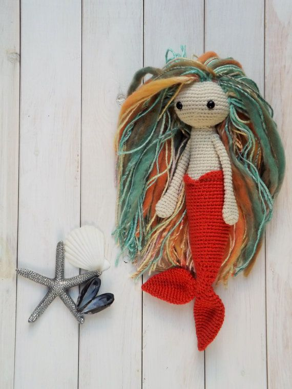 *This listing is for a pattern only*    Introducing Miriam. Miriam is a shy little mermaid, but once you get to know her, she really comes out