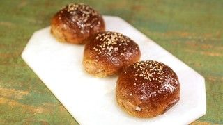 Cream Cheese-Stuffed Sweet Buns Recipe | The Chew - ABC.com - http://abc.go.com/shows/the-chew/recipes/cream-cheese-stuffed-sweet-bun-carla-hall