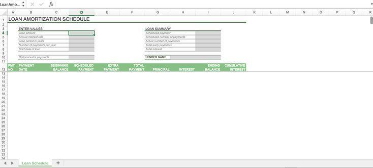Unique Amortization Table Excel Template Xls Xlsformat Xlstemplates Xlstempl My Mortgage Amortization Calculator Mortgage Amortization Amortization Chart
