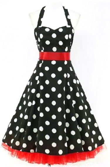 Atomic 50's Swing Dress: Love this for the bridesmaids :)