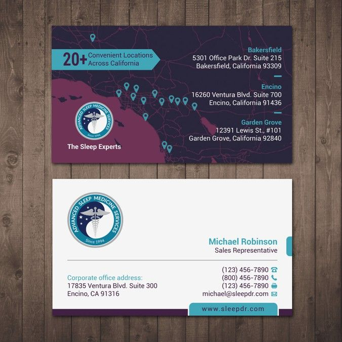 The 43 best business cards images on pinterest business cards design business cards for healthcare sales team incorporating our new branding by tcmenk reheart Images